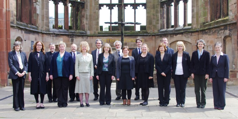 The Pennine Singers at Coventry Cathedral